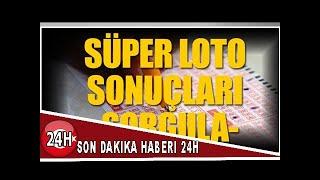 Süper Loto Sonuçları Belli Oldu! 8 Mart Süper Loto Bilet Sorgulama...