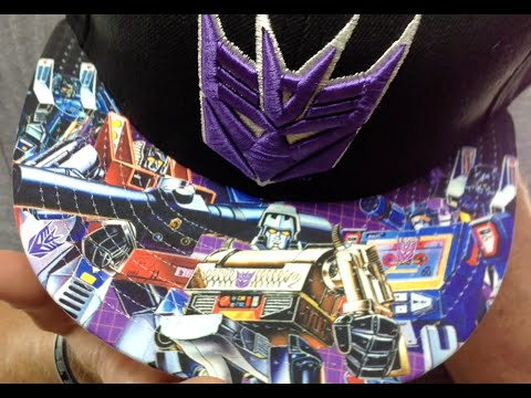 Decepticon  VIZA FACTION  Black Fitted Hat by New Era - YouTube 8d0d5e6d02b