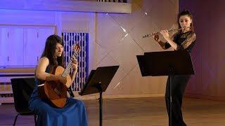 Gvaneta Betaneli & Lika Megrelishvili plays Pompeya by M.D.Pujol,