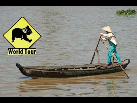 Voyage au Vietnam Chau Doc Phnom Penh vers le Cambodge Maryse & Dany © Youtube
