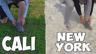 Tying My Shoes In Every State (World Record) thumbnail