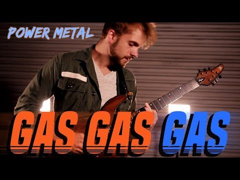 Gas Gas Gas || POWER METAL COVER by RichaadEB, Caleb Hyles, Jonathan Young, FamilyJules & 331erock
