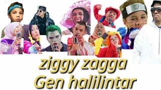 #ziggy Zagga Gen Halilintar - Ziggy Zagga  Music Video  | 11 Kids + Parents