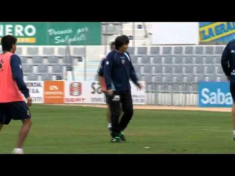 Yoichi Takahashi entrena amb el CE Sabadell
