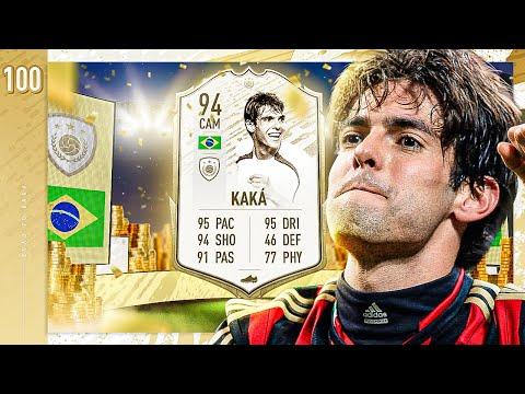 BUYING PRIME ICON MOMENTS KAKA!! EPISODE 100!! - FIFA 20 KAKA ROAD TO GLORY #100