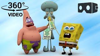 SpongeBob SquarePants! 360° | Squidward, Where Are You?