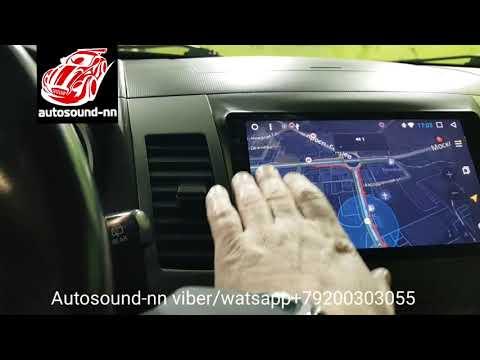 "Штатная Магнитола Mitsubishi Outlander XL 9"" Rockford (4 ядра 2/32)android 7.1"