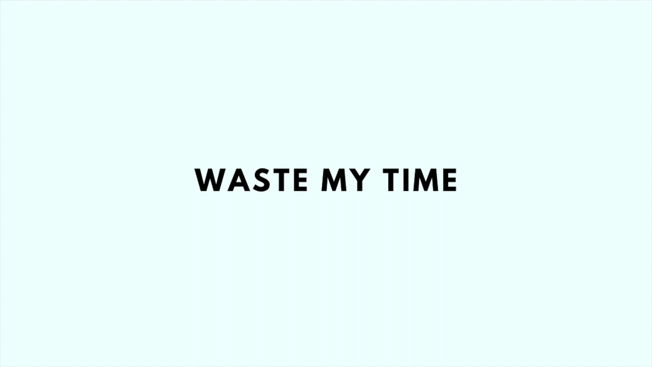 """R&B Type Beat """"Waste My Time"""""""