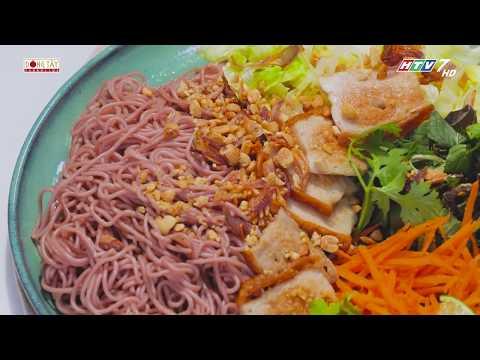 Bún gạo lức trộn rau thơm món ăn thực dưỡng tốt cho sức khỏe   Khi Chàng Vào Bếp - Mùa 2