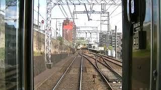 【HD】阪急神戸線 普通梅田行き 全区間前面展望 神戸三宮~梅田