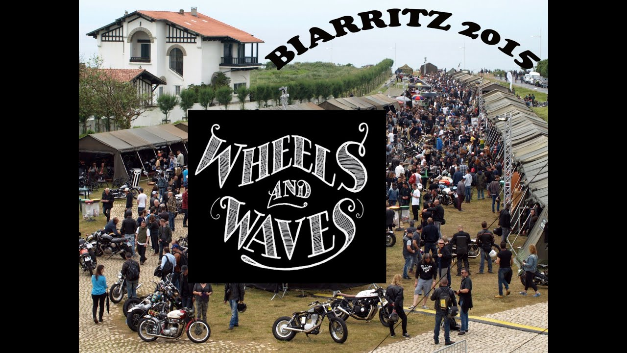 wheels and waves 2015 biarritz custom bike show youtube. Black Bedroom Furniture Sets. Home Design Ideas