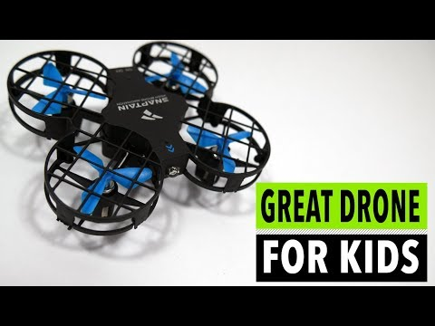 SNAPTAIN H823H mini drone review - Kids and Beginners // Altitude Hold // Headless Mode // Flips