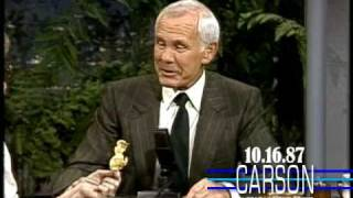 Johnny Carson Eats a Prized Potato Chip on Johnny Carson's Tonight Show