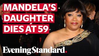 Nelson Mandela's daughter Zindzi Mandela dies at the age of 59