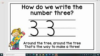 How to Write the Number 3