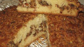 Как приготовить пирог Ореховый