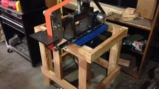 Beaumont Kmg Grinder Vertical/horizontal Stand Build
