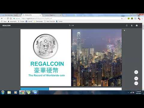 REGAL COIN COMP PLAN REVIEW (Don't Expect To Get Paid On Your WHOLE Team!!)