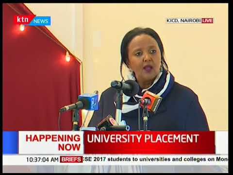 Education CS Amina Mohammed officiates the launch of the ministries strategic plans at KICD