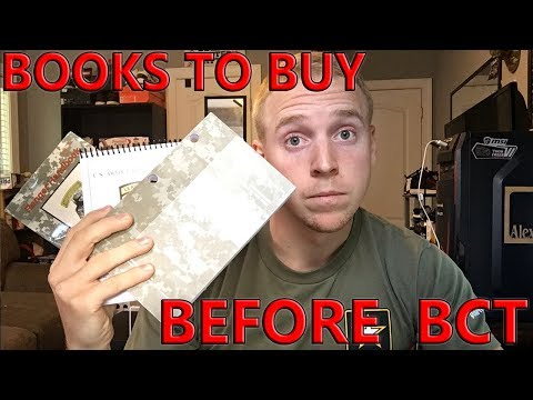What Books Should You Get Before Army BCT