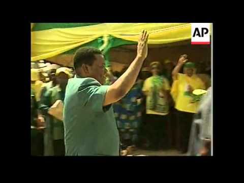 TANZANIA: MULTI PARTY ELECTIONS