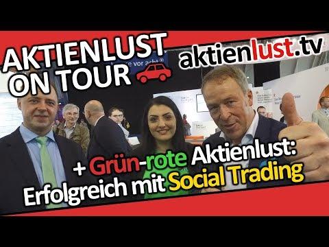 Grün-rote Aktienlust: Erfolgreich mit Social Trading | Invest Stuttgart 2018