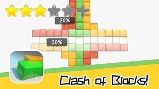 Clash of Blocks! Walkthrough Stimulating Mission Recommend index three stars