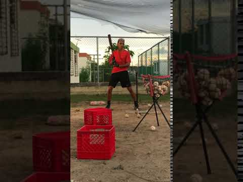 Jose M Torres - batting workout-5