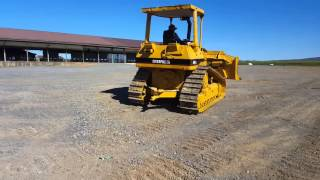 1995 caterpillar d4h xl series 3 bull dozer for sale running and operating video