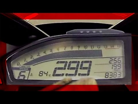 14' CBR 1000RR - Top Speed [ +299 km/h ] [ HD ]