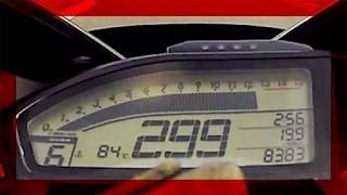 14' CBR 1000RR - Top Speed [ +299 km/h ] [ HD ]