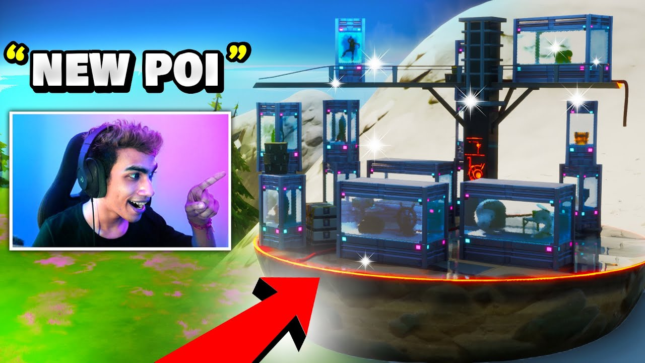 *NEW* THE COLLECTION POI in Fortnite Battle Royale