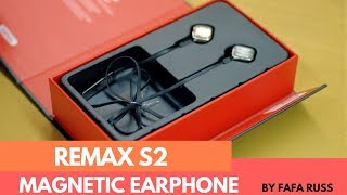 Remax S2 Bluetooth Magnetic Earphone