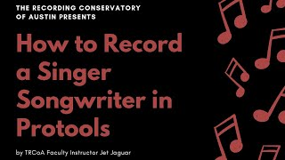 Baixar How to Record a Singer Songwriter in Protools (TRCoA Demo)