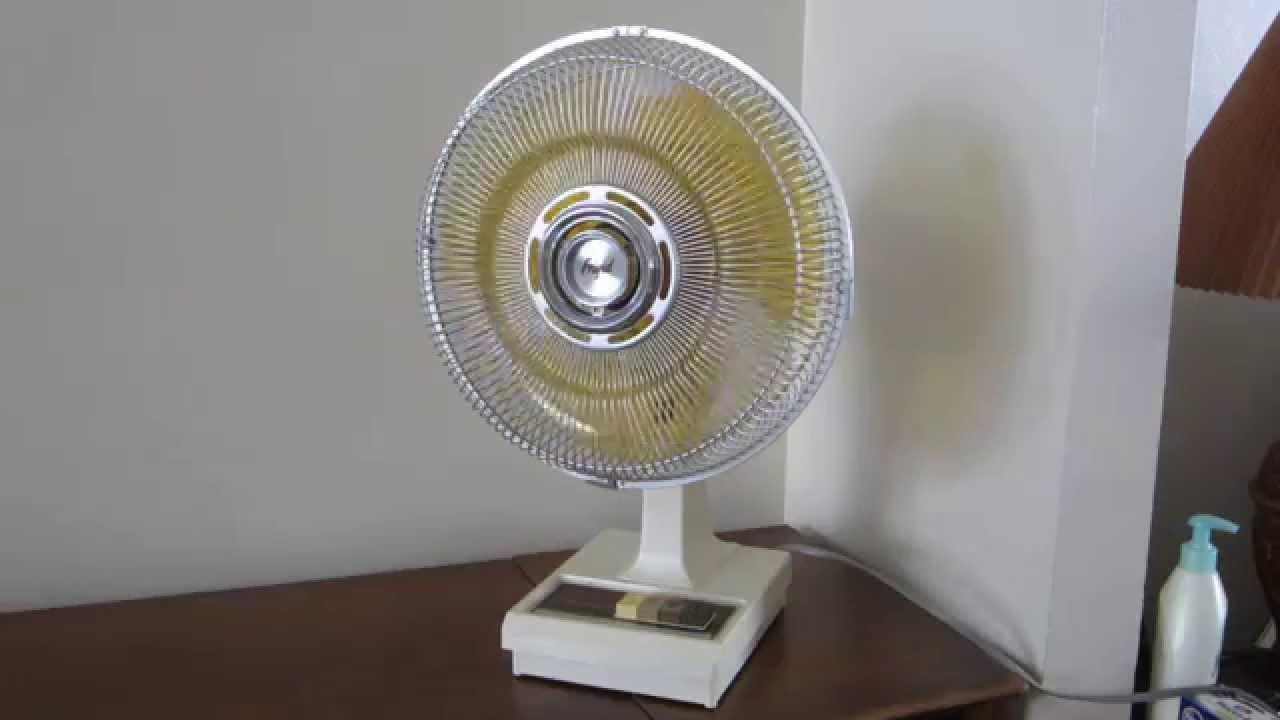 Frigid 12quot Desk Fan Model Fd 123w Youtube