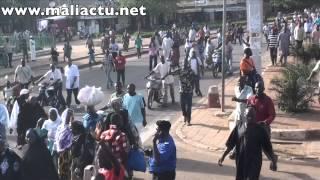 "Manifestation ""NON au fédéralisme"" aujourd'hui à Bamako -"