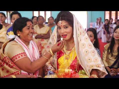 Juri weds Dhanjit   Assamese Wedding Film   NEW VISION 2018