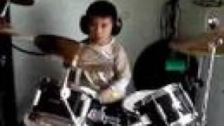 Flo Rida Low Drum Cover Joshua Hui (Travis Barker version) 5 years old