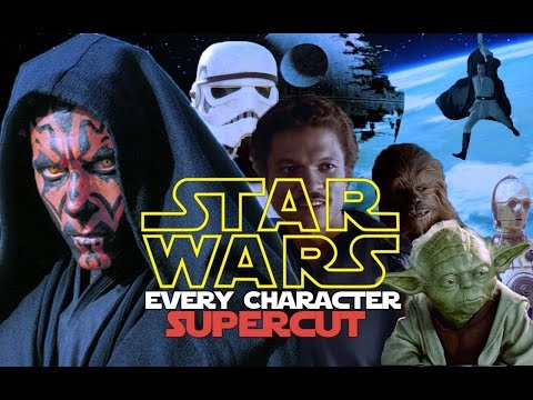 See every character from the Star Wars universe in a single video