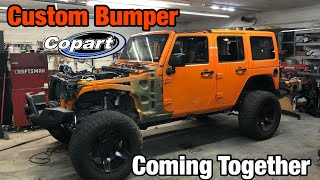 Download Rebuilding a Wrecked 2013 Jeep Wrangler Jk From Copart Part 10 Mp3 and Videos