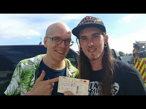 Devin Townsend Interview Rambling Man 2016