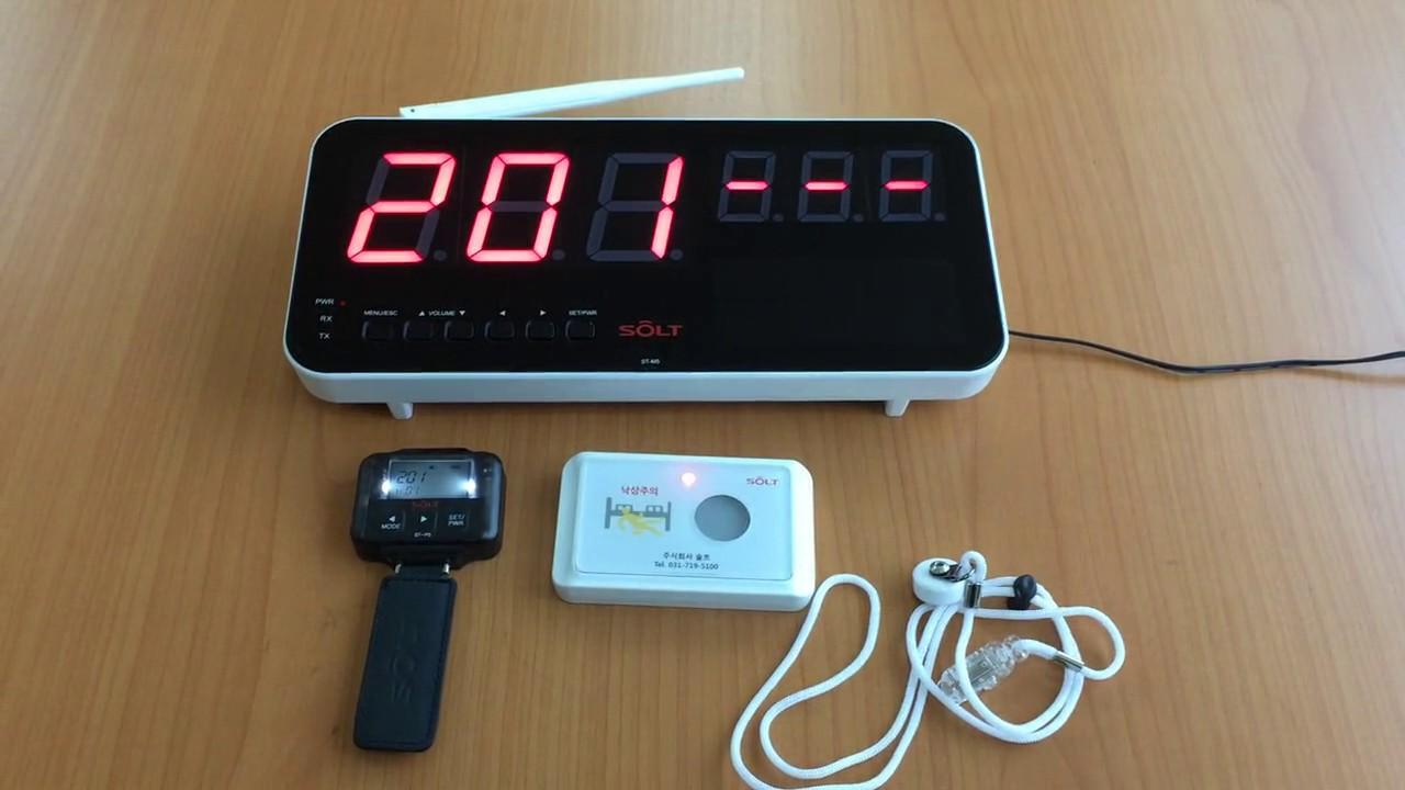 Беспроводная кнопка вызова медперсонала SOLT