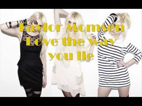 Клип taylor momsen - Love The Way You Lie