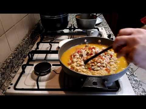 Risotto ai frutti di mare - Sugo per risotti - Ricetta facile e veloce - LericettediGian