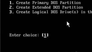 Fdisk DOS Partition Tutorial_.avi