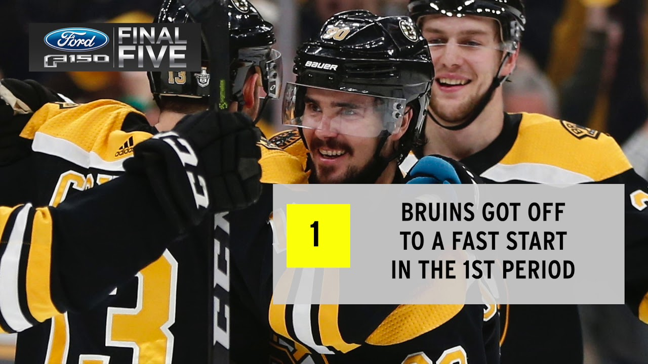 Ford F-150 Final Five Facts: Bruins Eliminate Maple Leafs In Game 7