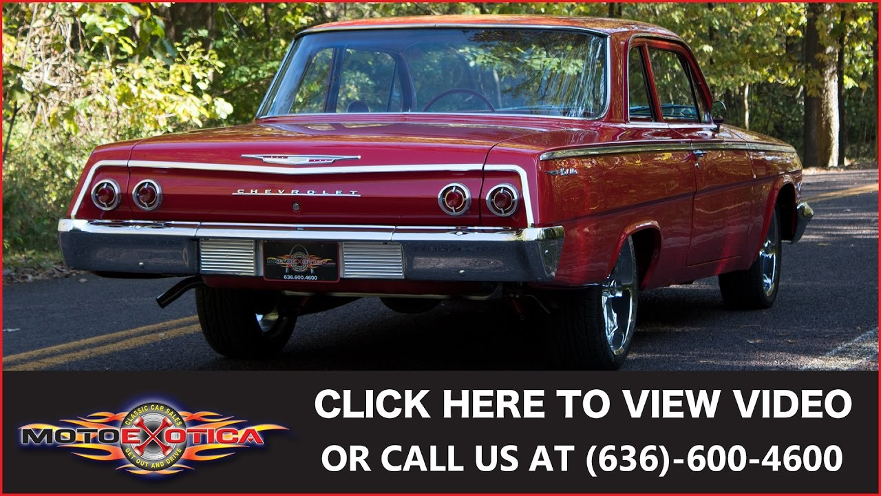 1962 Chevrolet Bel Air Sold Youtube