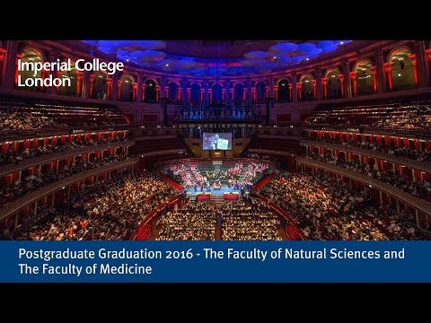 Postgraduate Graduation 2016 - The Faculty of Natural Sciences and The Faculty of Medicine