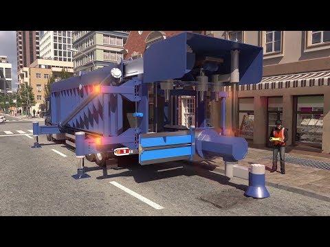 Future Pothole Repairing Machine - Future Road Repair Technology