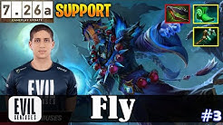 Fly - Lich Safelane | SUPPORT | 7.26a Update Patch | Dota 2 Pro MMR Gameplay #3